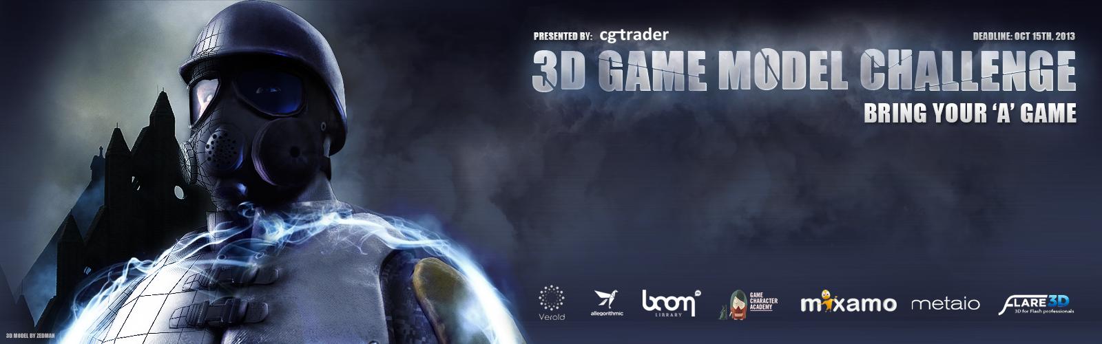 3D Game Model Challenge