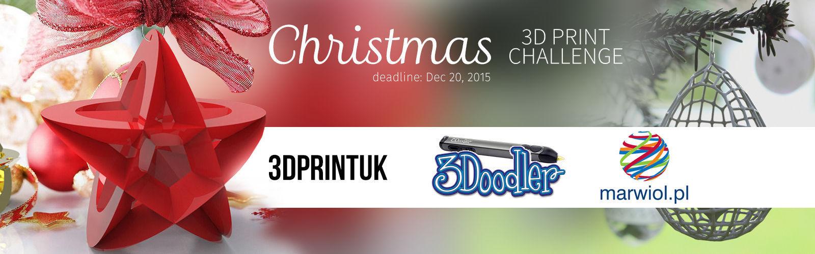 3D Printing Christmas Challenge