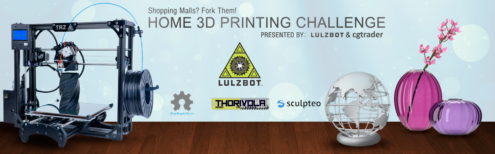 Home 3D Printing Challenge