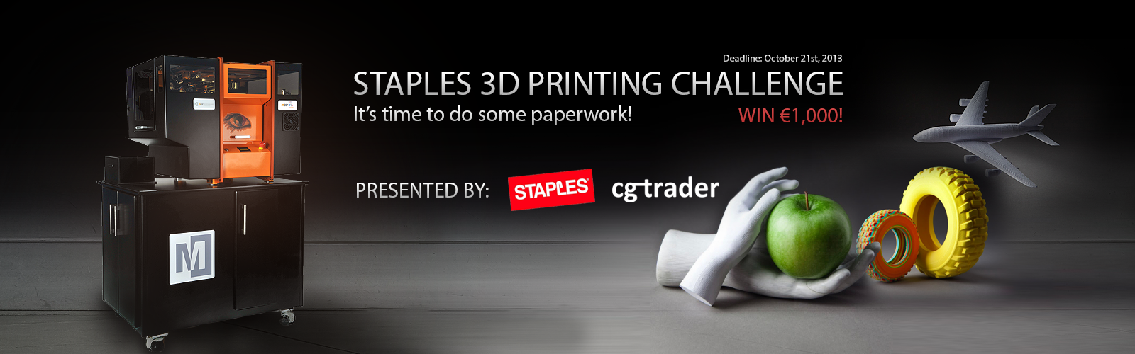 Staples 3D Printing Challenge