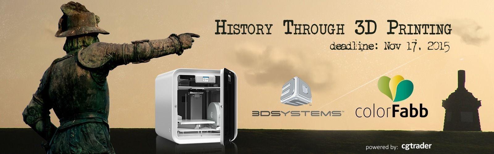 History Through 3D Printing