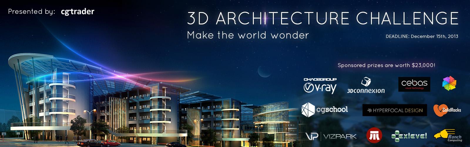 3D Architecture Challenge