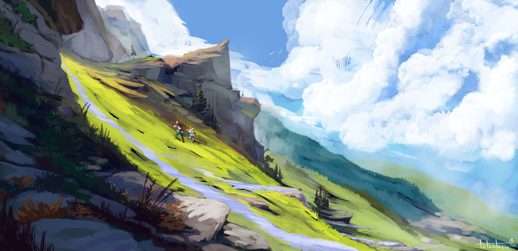 The CGTrader Digital Art Competition is over. See the winning artworks here! 14