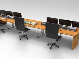 Master Control Room Desk