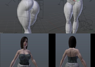 jill valentine NUDE+NORMAL 3D MODEL (LINK)