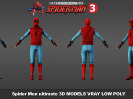 Spider Man Comic ultimate. 3ds max 2010 render vray 2.4