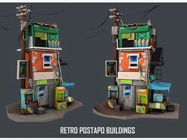 DANBEE TRANNING-Retro Postapo Building