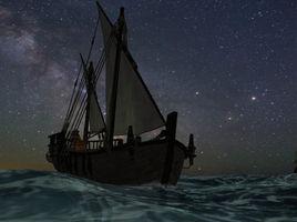 A quiet night passage