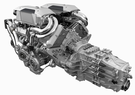 Bugatti Chiron engine