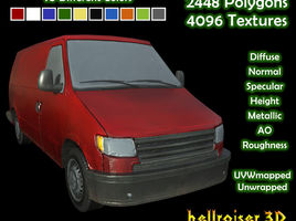 Panel Van - Clean and Dirty 10 Colors Textured