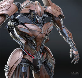 Andromech 2.0 (Grens) by Christophe Lacaux