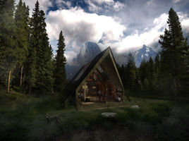 Chalet in the nature