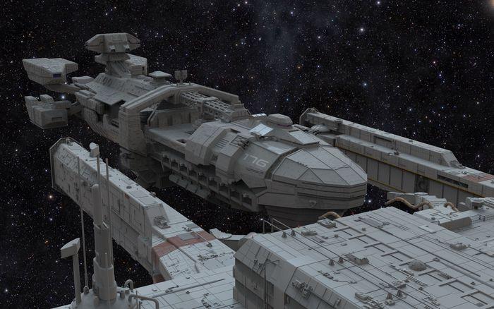 starship troopers dock
