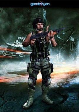 3D Alfred Military Mascot