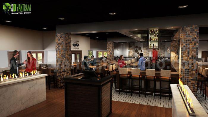 Create Best Bar design ideas by Yantram interior design firms Miami