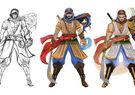 2D – 3D Concept Art Character Animation