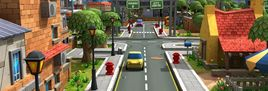 Game Assets – Street / Road Design