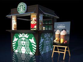 Kiosk Starbucks