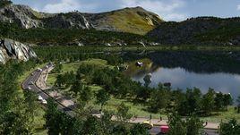 On the lakesides in Blender