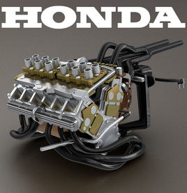 Honda Formula 1 Motor 1965 RA272