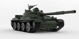 Tank T-62A