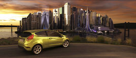 This Is Now Campaign – Virtual City for New Ford Fiesta Launch