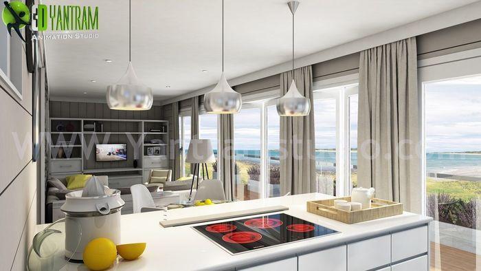 Living Room Design Ideas, Interiors U0026 Pictures By Yantram Architectural  Studio   Atlanta, ...