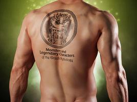 Tattoo on Man