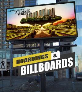 Hoarding Billboards Design Concept By Yantram Real Estate Digital Branding Agency Amsterdam, Netherland