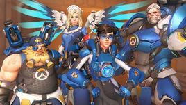 CHECK OUT THESE LATEST 'OVERWATCH' SKINS FROM THE 'UPRISING' EVENT THAT ARE AWESOMELY RETRO