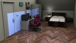 Room rendered in Vray