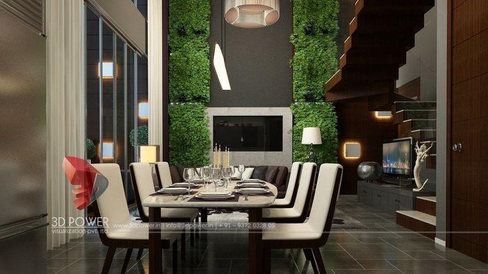 3D Interior Designing Of Dining Room
