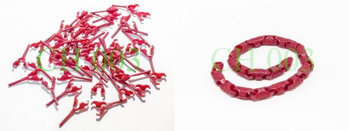 My 3d model in jewelry wax.