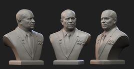 Nikita Khrushchev  bust