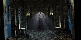 Barbarian throne room props