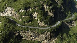 Coastal road in Vue