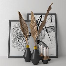 Decoration sets for interior design