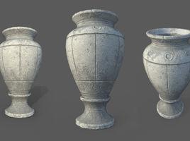 Game Art : Roman Vase