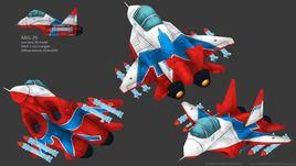 MiG-29, additional skin