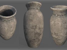 Game Art : Low Poly Vase 2