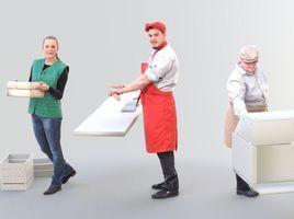 Worker Bundle - Ready-Posed [3DPEOPLE]