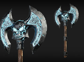 Stylized Double Axe