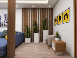 Sit and relax living area design