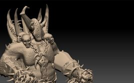 Champion of Nurgle Figurine