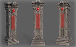 Game Art : Giant Pillar