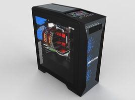 Cluster Sheet Metal PC Case
