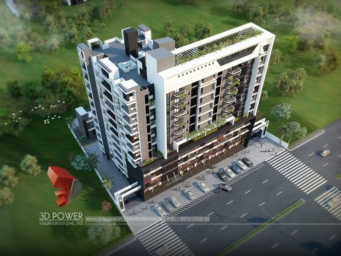 Complete 3D Visualization of Commercial Apartment