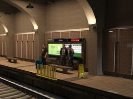 The Metro Train Station