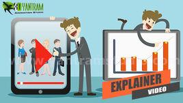Animated Explainer Video using Motion Graphics Production by Yantram Real Estate Interactive Web App, Dubai - UAE