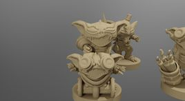 Goblin Wrecking Crew - Printable Miniature Set